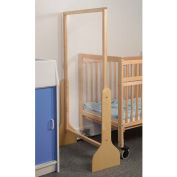 Whitney Brothers Narrow Sanitary Partition Divider