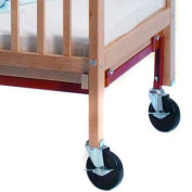 Whitney Brothers Fully Braced Crib Caster Set