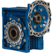 Worldwide Electric CALM75-60/1-56C Aluminum Worm Gear Reducer, 75mm, 60:1, 56C NEMA Frame