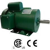 Worldwide Electric FM12-18-56, Farm Duty Motor, 1/2HP, 1800RPM, 56, 115/230V, TEFC