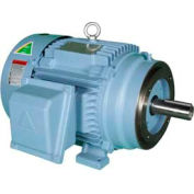 Hyundai PEM Motor HHI5-12-215TC, TEFC, Rigid-C, 3 PH, 215TC, 5 HP, 1200 RPM, 7.4 FLA