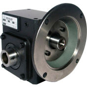 Worldwide HdRF237-50/1-H-56C Cast Iron Right Angle Worm Gear Reducer 50:1 Ratio 56C Frame