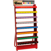 Ammco Steel Wheel Weight Assortments Assortment with Metal Rack - AMM2075
