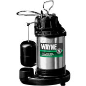 Wayne® CDU980E 3/4  HP Stainless Steel Sump Pump
