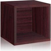 Way Basics Eco Stackable Storage Cube, Espresso