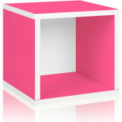 Way Basics Eco Stackable Storage Cube, Pink