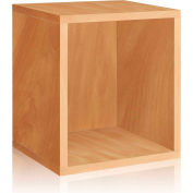 Way Basics Eco Stackable Storage Cube Plus, Natural
