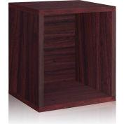 Way Basics Eco Stackable Storage Cube Plus, Espresso