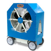 Baileigh Portable Cold Front Atomized Cooling Fan, 3 Speed, 110V, 1.9 GPH