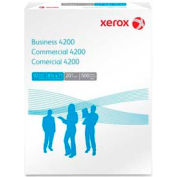 "Xerox® Business 4200 Paper, 8-1/2"" x 11"", 20 lb, 3-Hole Punched, White, 5000 Sheets/Carton"