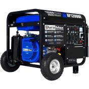 DuroMax XP12000E 12,000-Watt 18HP Portable Gas Generator w/Electric Start 120/240V