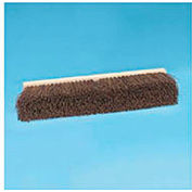 "18"" Floor Brush Head 3-1/4"" Palmyra Fiber, Natural - BWK20118"