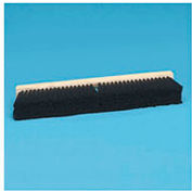 "24"" Hardwood Block 2-1/2"" Tampico Fill Floor Brush Head, Black - BWK20224"