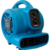 XPOWER Freshen Aire Mini Scented Air Mover W/ Ionizer & 3-Hour Timer, 3 Speeds 800 CFM - P-250NT