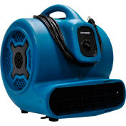 XPOWER Stackable Air Mover, 4 Positions, 3 Speeds 1 HP - P-830