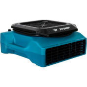 XPOWER Low Profile Air Mover, Carpet Dryer w/ Daisy Chain, 1050 CFM, 1/3 HP - PL-700A