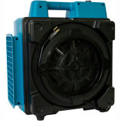XPOWER Mini Air Scrubber with Professional 4-Stage HEPA, 1/2 HP, 5 Speeds - X-2580