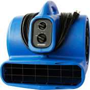 XPOWER Stackable Air Mover w/Timer & Filter, 4 Positions, 3 Speeds 1/3 HP - X-430TF