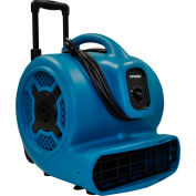 XPOWER Stackable Air Mover W/ Telescopic Handle & Wheels, 3 Speeds 1 HP - X-830H