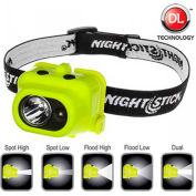 NightStick® XPP-5454G Intrinsically Safe Multi-Function Dual-Light™ Headlamp - Pkg Qty 4