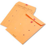 Interoffice Envelopes, Kraft String-Tie, Printed One Side, 9 x 12, 100/Carton