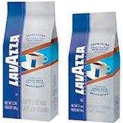 Lavazza Gran Filtro Dark Italian Roast Coffee, Regular Ground Fraction Packs, 2.25 oz., 30/Carton