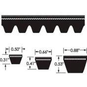 ContiTech Torque-Flex Belt, Cogged, Ax62