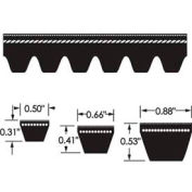 ContiTech Torque-Flex Belt, Cogged, Cx120