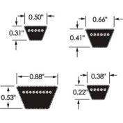 Goodyear® Hy-T® Plus Classical Belt, C128 - Min Qty 2