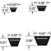 ContiTech Fhp Belt, 4l370
