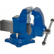 "Yost 5"" Heavy Duty Combination Pipe & Bench Vise - Swivel Base"