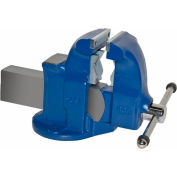 "Yost 5"" Heavy Duty Combination Pipe & Bench Vise - Stationary Base"