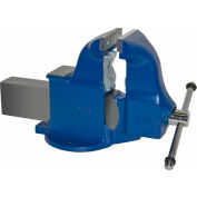 "Yost 6"" Heavy Duty Combination Pipe & Bench Vise - Stationary Base"