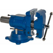 "Yost 5-1/8"" Multi-Jaw Rotating General Purpose Pipe & Bench Vise"