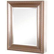 "Pegasus SP4596 24"" Recessed or Surface Mount Mirrored Medicine Cabinet W/Deco Framed Door"
