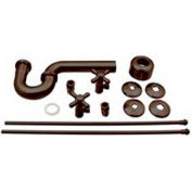 Belle Foret D1838L-12 Pedestal Lavatory Supply Kit, Oil-Rubbed Bronze