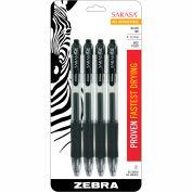 Zebra Sarasa® Retractable Gel Pen - Black Ink - 12 Pack