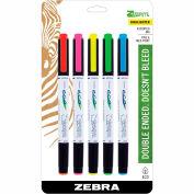 Zebra Eco Zebrite Highlighter - Assorted - 5 Pack