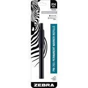 Zebra PM-701 Permanent Marker Refill - Black