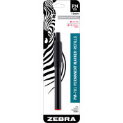 Zebra PM-701 Permanent Marker Refill - Red