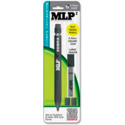 Zebra MLP2 Mechanical #2 Pencil, Lead/Eraser Refillable, 0.9mm, Black