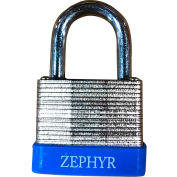"Zephyr Bottom Resettable Combination Padlock 18074- 1-1/4"" (31.75mm) Shackle Tall"