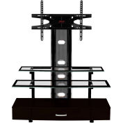 "Z-Line Sync Flat Panel 3 in 1 Television Mounting System, 50""W x 20-1/2""D x 55""H, Black"