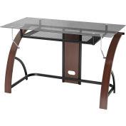"""Z-Line Claremont Desk, 47""""W x 24""""D x 30""""H, Espresso"""