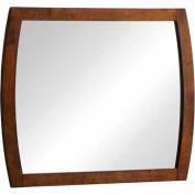 """Zuo Modern Portland Mirror Walnut - 31-1/2""""W x 4/5""""D x 39-2/5""""H"""