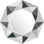 """Zuo Modern Facet Mirror - 34-4/5""""W x 2""""D x 34-4/5""""H"""