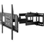 "Fleximounts A04 Full Motion TV Wall Mount Bracket, Articulating, for 32-65"" TVs Up to 132 lbs."