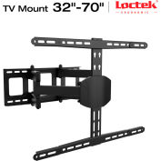 """Loctek TV Wall Mount Bracket, Articulating, for 32""""-70"""" Monitors Up to 99-lbs."""