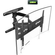 "Loctek Full Motion Wall Mount Bracket for 32""-70"" Flat & Curved Panel TVs"