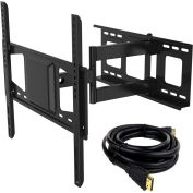 "Fleximounts V2 Full Motion TV Wall Mount Bracket, Articulating for 32""-50"" TVs Up to 88 lbs."
